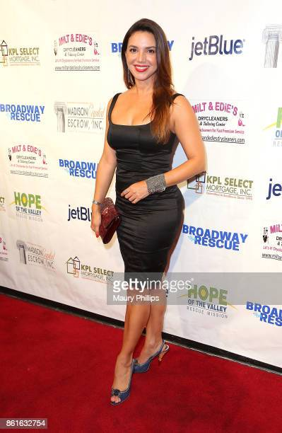 Diana Hernandez attends Broadway to The Rescue a benefit for the homeless at The Montalban Theater on October 14 2017 in Los Angeles California