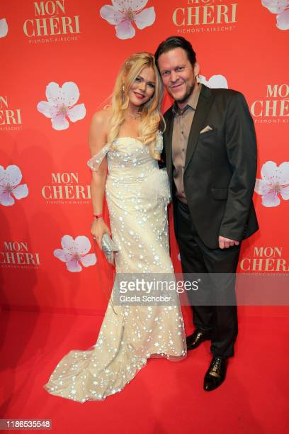 Diana Herold and her husband Michael Tomaschautzki during the 10th Mon Cheri Barbara Tag at Isarpost on December 4 2019 in Munich Germany