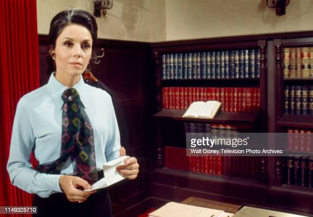 Diana Hyland appearing in the ABC tv series 'Owen Marshall Counselor at Law' episode 'Final Semester'