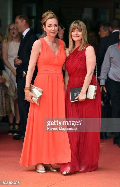 Diana Iljine and Nastassja Kinski during the premiere of 'Ihre Beste Stunde' as closing movie of Munich Film Festival 2017 at Gasteig on July 1 2017...