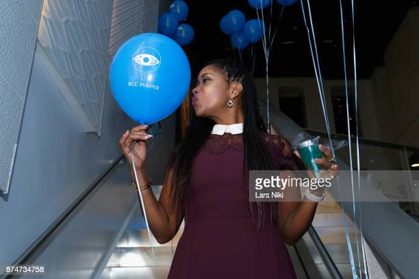 Diana Jean attends the Blu Perfer Blue Brut Launch Party for The 2018 8th annual Better World Awards on November 15 2017 in New York City