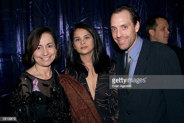 Diana Kerew Bella and Director Jace Alexander at the Project ALS Gala Benefit and World Premiere of Jenifer at the Loews Astor Plaza in New York City...