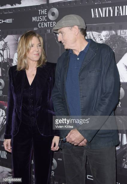 Diana Krall and James Taylor attend Joni 75 A Birthday Celebration Live At The Dorothy Chandler Pavilion on November 7 2018 in Los Angeles California