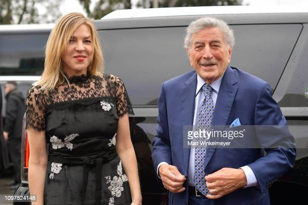 Diana Krall and Tony Bennett attend the 61st Annual GRAMMY Awards at Staples Center on February 10 2019 in Los Angeles California