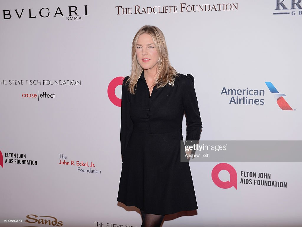 Diana Krall attends 15th Annual Elton John AIDS Foundation An Enduring Vision Benefit at Cipriani Wall Street on November 2, 2016 in New York City.