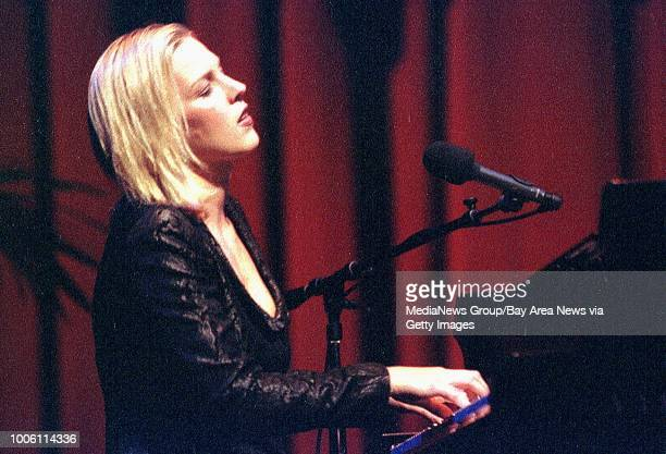 Diana Krall performs as part of the San Francisco Jazz Festival's 'The Sound of Romance' show at The Masonic Auditorium in San Francisco Saturday Oct...