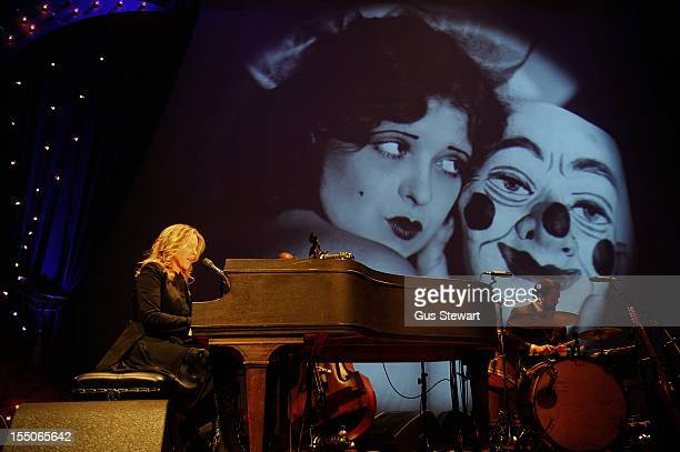 Diana Krall performs on stage at Royal Albert Hall on October 31 2012 in London United Kingdom