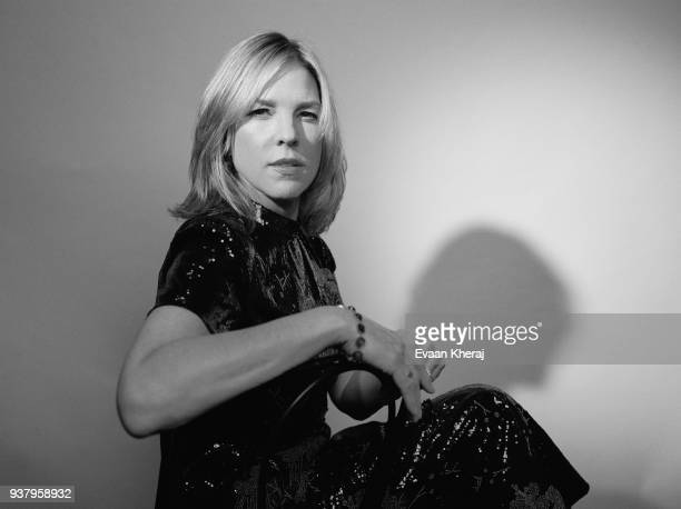 Diana Krall poses for a portrait at the YouTube x Getty Images Portrait Studio at 2018 Juno's Gala Awards Dinner on MARCH 25th 2018 in Vancouver BC