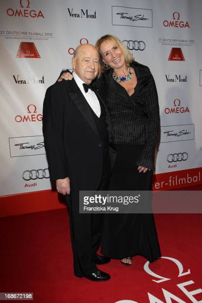 Diana Körner and husband Erich Müller at 37th German Filmball at Hotel Bayerischer Hof in Munich on 160110