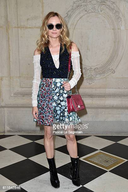 Diana Kruger attends the Christian Dior show of the Paris Fashion Week Womenswear Spring/Summer 2017 on September 30 2016 in Paris France
