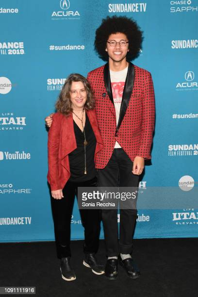 Diana Kunce and Caleb Jaffe attend the Indie Episodic Program 2 during the 2019 Sundance Film Festival at Prospector Square Theatre on January 29...