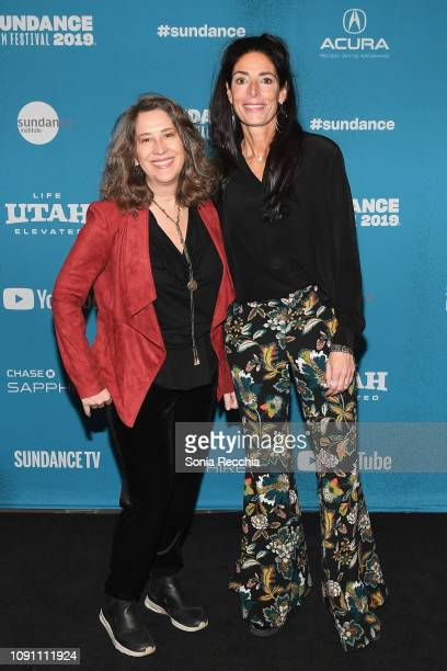 Diana Kunce and Loren Segan attend the Indie Episodic Program 2 during the 2019 Sundance Film Festival at Prospector Square Theatre on January 29...