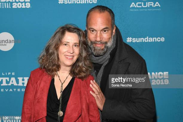 Diana Kunce and Roger Guenveur Smith attend the Indie Episodic Program 2 during the 2019 Sundance Film Festival at Prospector Square Theatre on...
