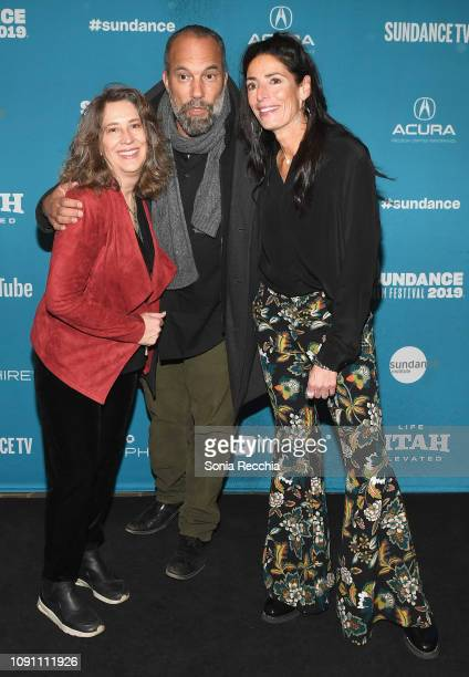 Diana Kunce Roger Guenveur Smith and Loren Segan attend the Indie Episodic Program 2 during the 2019 Sundance Film Festival at Prospector Square...