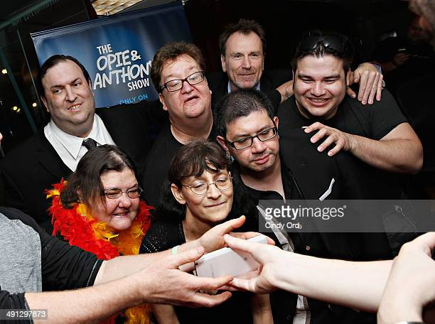 Diana 'Lady Di' Orbani Big A Patti 'Stalker Patti' Brooks Mike Bocchetti Daniel 'Bobo' Kurlan Colin Quin and Oscar visit 'The Opie Anthony Show' at...
