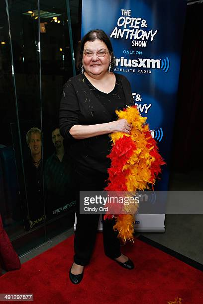 Diana 'Lady Di' Orbani visits 'The Opie Anthony Show' at SiriusXM Studios on May 16 2014 in New York City