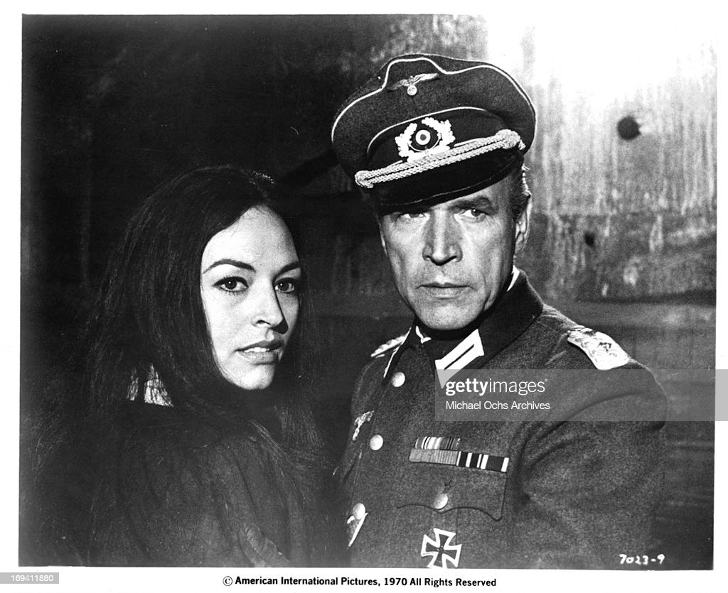 Diana Lorys And Wolfgang Preiss In 'Battle Of The Commandos' : News Photo