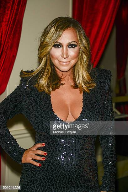 Diana Madison arrives at 2015 Obsev Studios Holiday Party on December 11 2015 in Los Angeles California