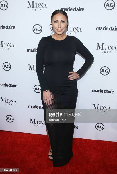 Diana Madison arrives to the Marie Claire's Image Maker Awards 2018 held at Delilah on January 11 2018 in West Hollywood California