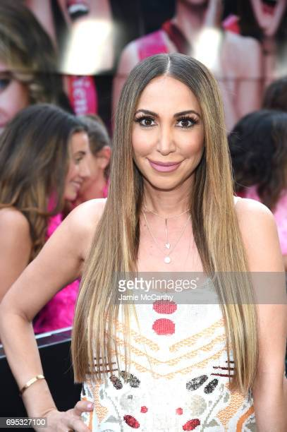 Diana Madison attends New York Premiere of Sony's ROUGH NIGHT presented by SVEDKA Vodka at AMC Lincoln Square Theater on June 12 2017 in New York City