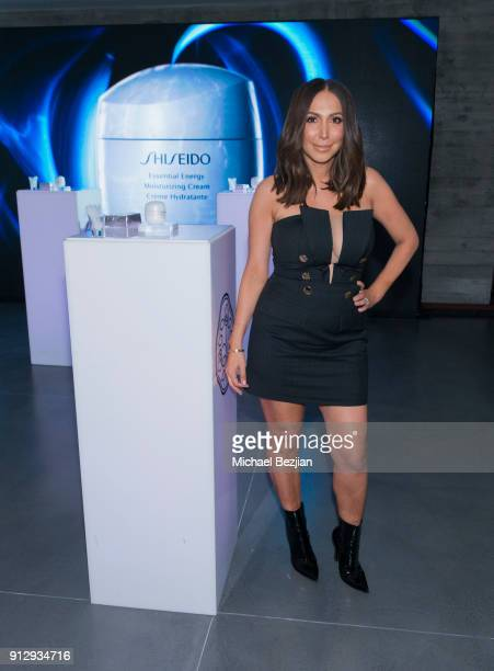 Diana Madison attends Shiseido Essential Energy LA Event on January 31 2018 in Los Angeles California