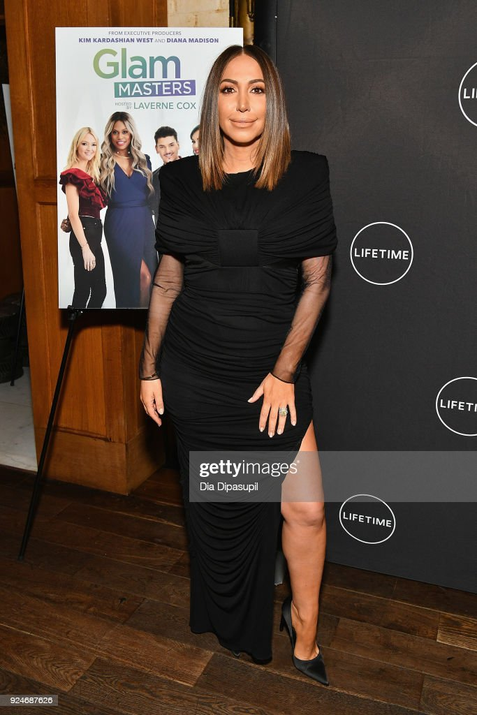 Diana Madison attends the exclusive premiere event of Lifetime's new show 'Glam Masters' with the cast and executive producer at Dirty French on February 26, 2018 in New York City.