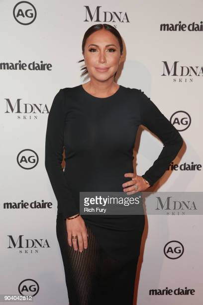 Diana Madison attends the Marie Claire's Image Makers Awards 2018 on January 11 2018 in West Hollywood California