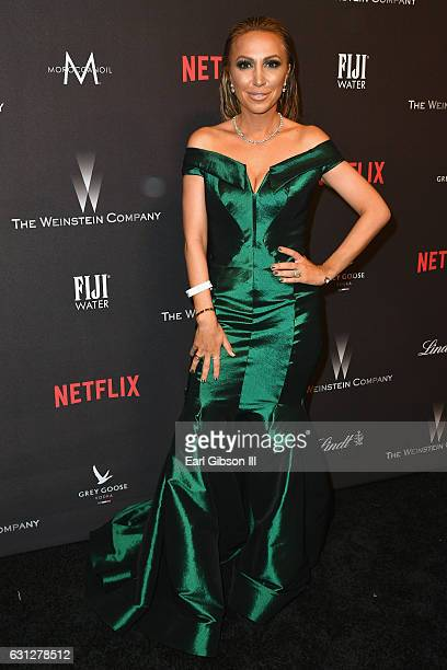 Diana Madison attends The Weinstein Company and Netflix Golden Globe Party presented with FIJI Water Grey Goose Vodka Lindt Chocolate and Moroccanoil...