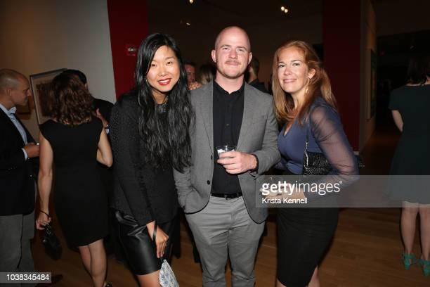 Diana Mao Tyler Keith and Amy Black at Thomas Keown 40th Birthday To Benefit Many Hopes on September 22 2018 in New York City