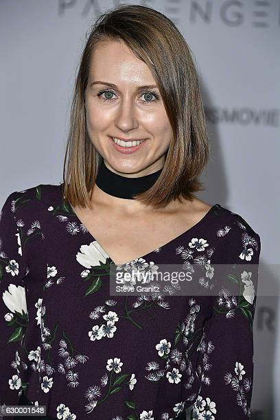 Diana Marks arrives at the Premiere Of Columbia Pictures' 'Passengers' at Regency Village Theatre on December 14 2016 in Westwood California