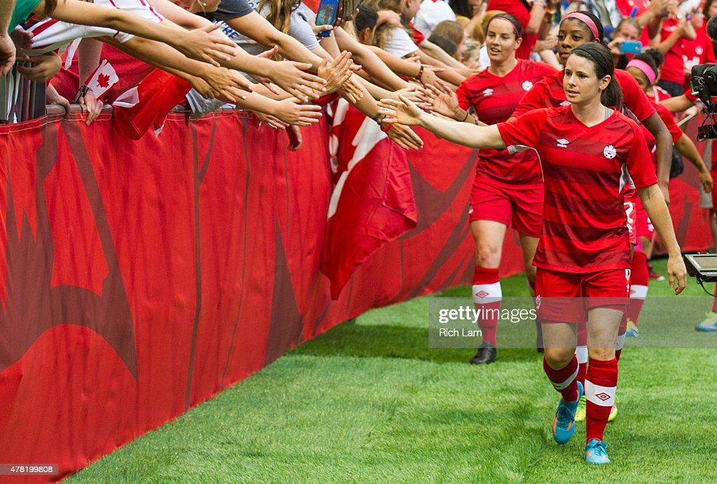 Canada v Switzerland: Round of 16 - FIFA Women's World Cup 2015