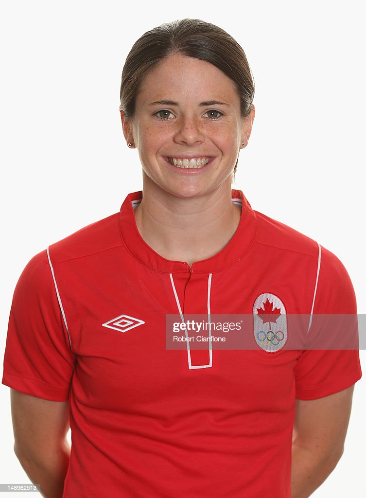 Canada Women's Official Olympic Football Team Portraits