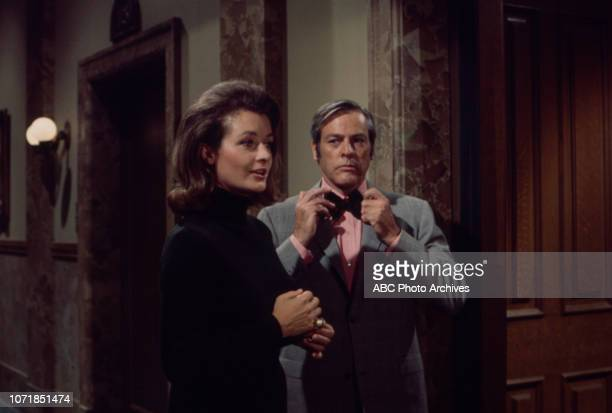 Diana Muldaur Kevin McCarthy appearing in the Walt Disney Television via Getty Images series 'The Survivors'