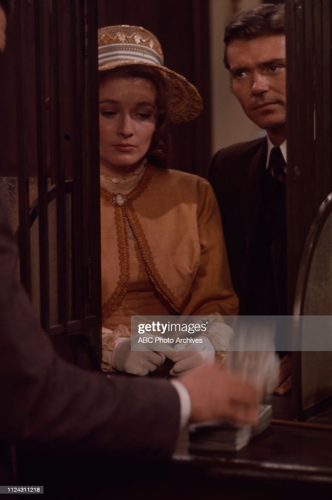 Diana Muldaur, Pete Duel Appearing In 'Alias Smith And Jones' : News Photo