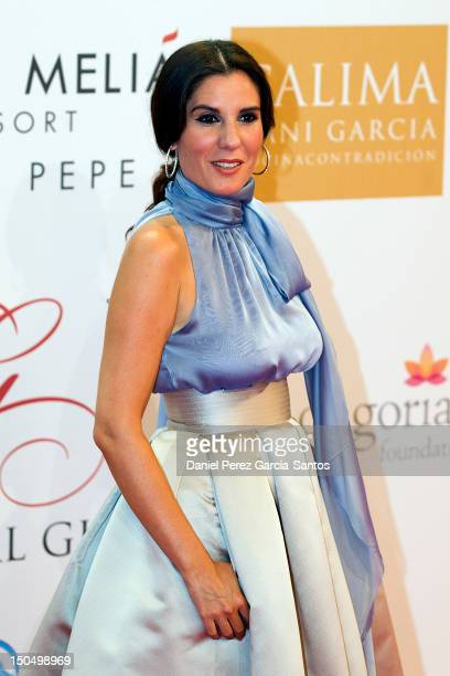 Diana Navarro attends the Global Gift Gala 2012 at Gran Melia Resort Don Pepe on August 19 2012 in Marbella Spain The Global Gift Gala is hosted by...