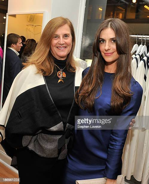Diana NewellRowan and designer Ariana Rockefeller attend the private reception celebrating the opening of the Ariana Rockefeller Popup Shop on...
