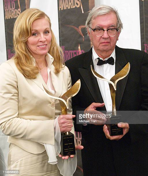 Diana Ossana and Larry McMurtry winners of Outstanding Original Screenplay for Brokeback Mountain