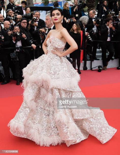 "Diana Penty attends the screening of ""A Hidden Life "" during the 72nd annual Cannes Film Festival on May 19, 2019 in Cannes, France."