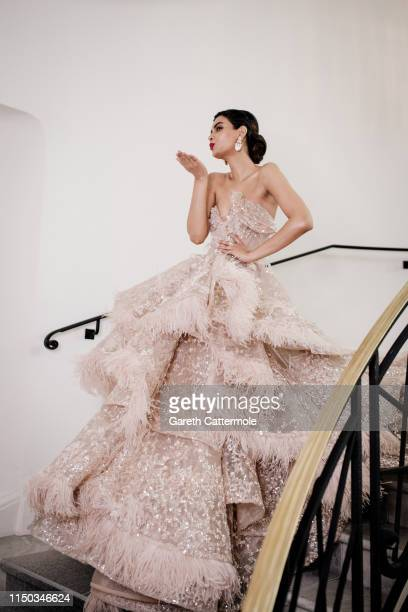 Diana Penty during the 72nd annual Cannes Film Festival at Hotel Martinez on May 19 2019 in Cannes France