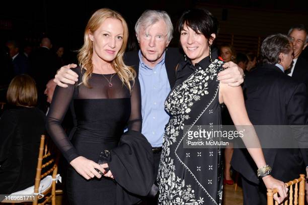 Diana Picasso David Shaw and Ghislaine Maxwell attend JAZZ AT LINCOLN CENTERu2019S 2015 GALA THE WORLD OF DUKE ELLINGTON at Jazz at Lincoln Center on...