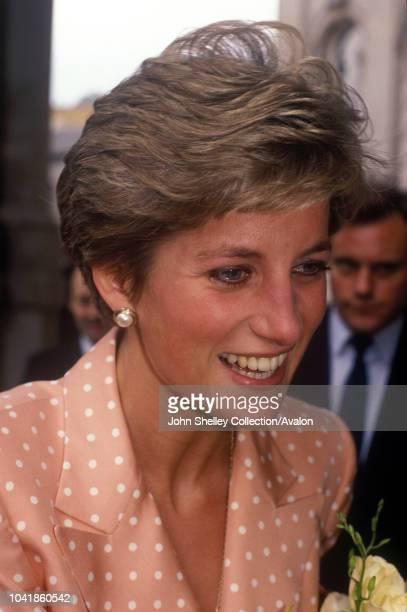 Diana, Princess of Diana, Langham Hotel, London, 15th May 1991.