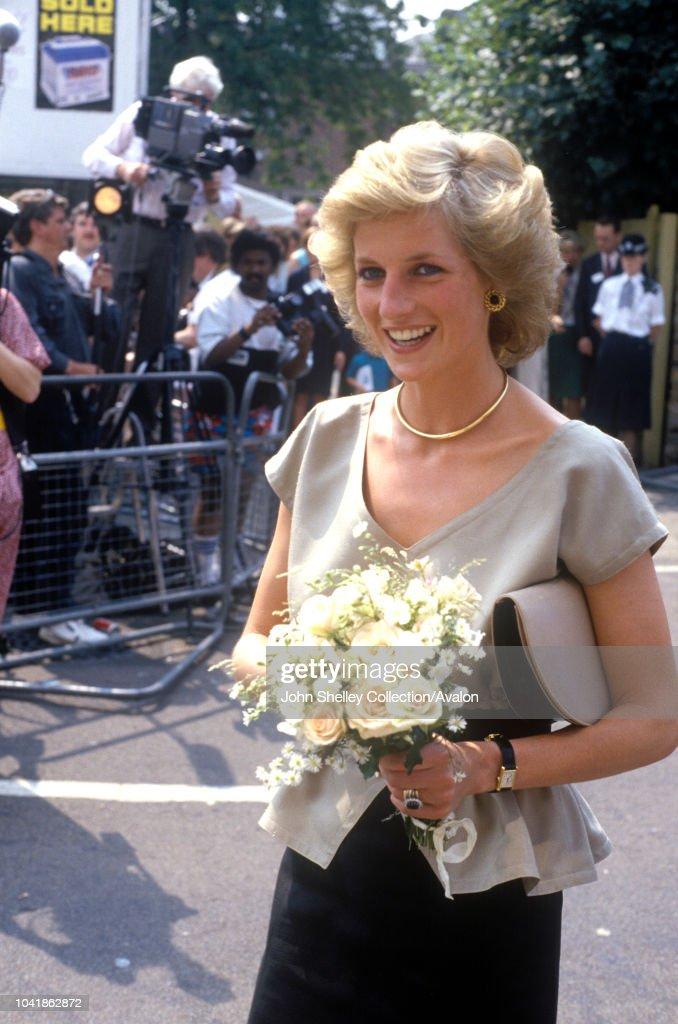 Diana, Princess of Wales,AIDS Action's Landmark Centre, Lambeth, London : Nachrichtenfoto
