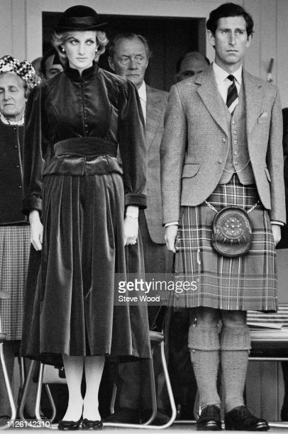 Diana, Princess of Wales, and Charles, Prince of Wales, in Scotland, UK, 5th September 1983.