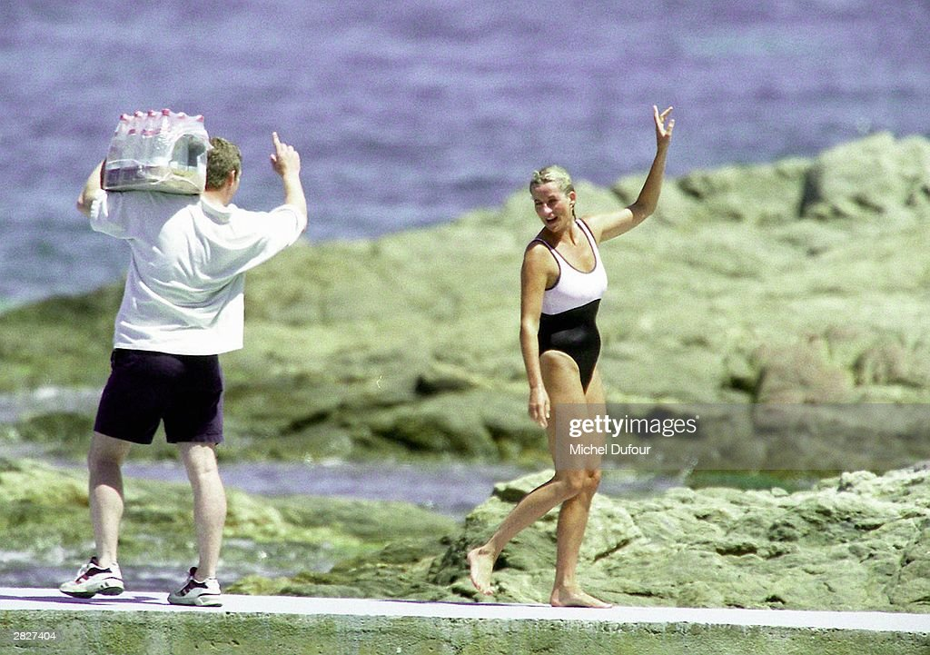 FILE PHOTO Dodi Al Fayed And Diana, Princess Of Wales : News Photo