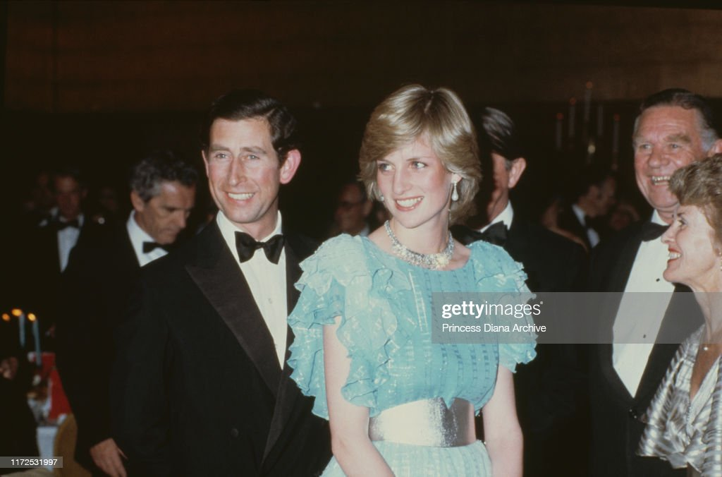 Charles and Diana In Australia : News Photo