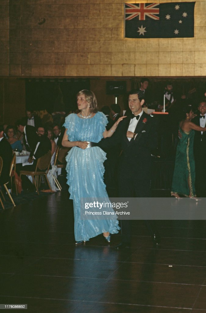 Charles And Diana In Sydney : News Photo
