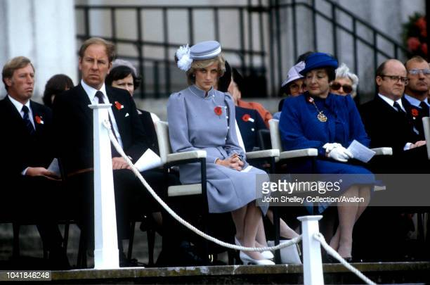 Diana Princess of Wales Anzac Day Commemorative Service New Zealand 25th April 1983