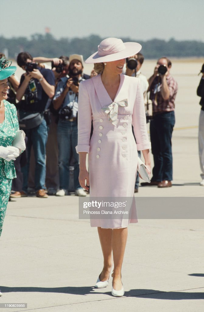 Diana In Melbourne : News Photo