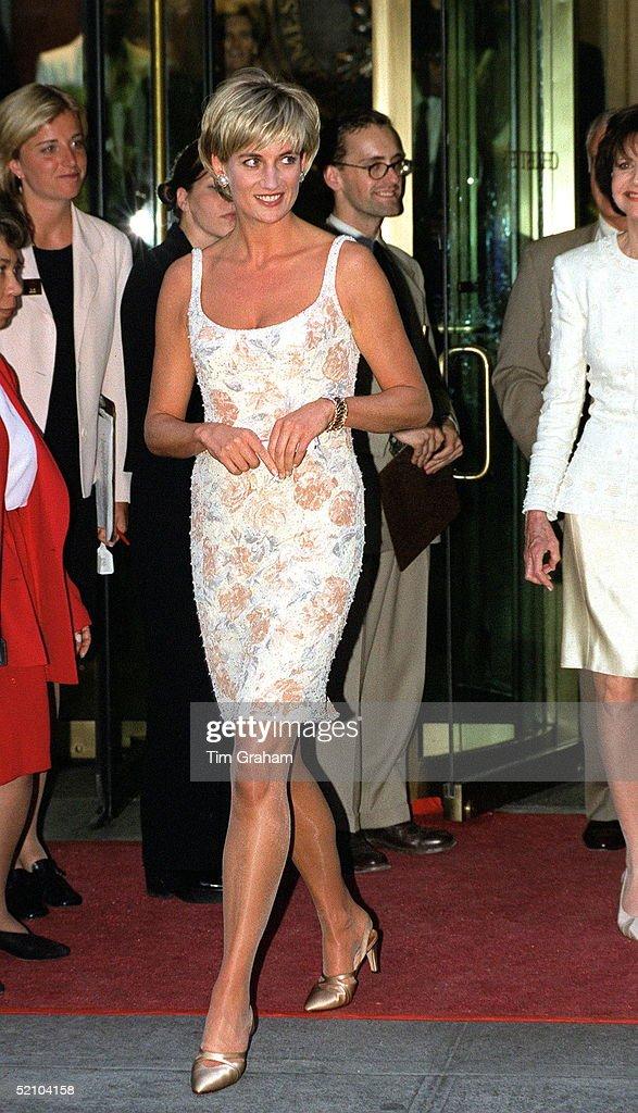 Catherine Walker Designs Worn By Princess Diana