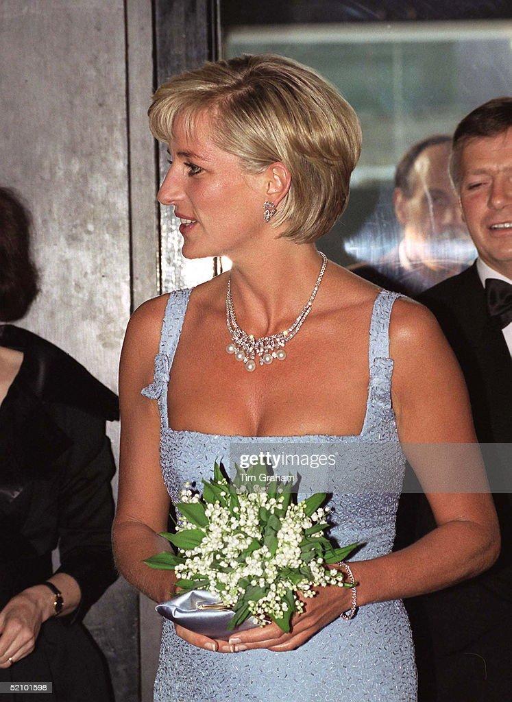Diana At Ballet : News Photo